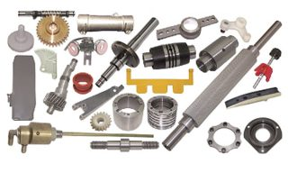 SPARE PARTS FOR PREPARATION, SPINNING AND TWISTING MACHINES