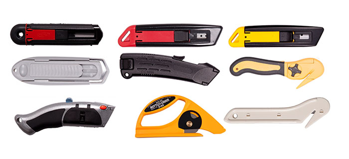 SAFETY HAND KNIVES